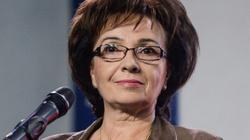 Elżbieta Witek: Nie używajmy inwektyw, nie obrażajmy ludzi - miniaturka