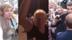 Szokujące wideo. Tak KOD i reszta zwolenników opozycji totalnej atakuje dziennikarzy - miniaturka