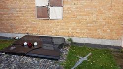 Zatrzymano wandala, który zniszczył epitafium smoleńskie - miniaturka