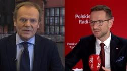 Tusk nazywa wyborców PiS ,,nienormalnymi''? Wiceminister Buda: To świństwo  - miniaturka