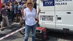 Agata Młynarska na marszu KOD krytykuje TVP w której...pracuje! - miniaturka