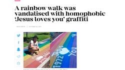 Australia: Napis Jezus Cię kocha uznany za homofobiczny - miniaturka