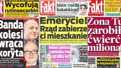 Wolność mediów za Platformy. Fakt krytykował rząd, to sprzątnęli naczelnego - miniaturka