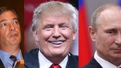 Farage - polityczny taran Putina wsparł Trumpa - miniaturka