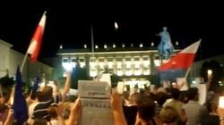 Policja: Manifestanci strzelali gazem w policję! - miniaturka