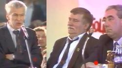 'Jest pan otoczony przez potakiwaczy i agentów!' Wyjątkowe nagranie z lat 90. Kornel Morawiecki mocno o Wałęsie - miniaturka