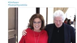 Ależ 'zabłysnął'! Kidawa-Błońska z Richardem Gerem. Misiło: Pretty woman! - miniaturka