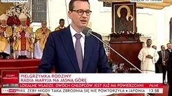 Morawiecki na Jasnej Górze: My za Polskę nie przepraszamy, my za nią dziękujemy! - miniaturka