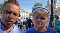 Medycy protestują w Warszawie. Joński już tam jest - miniaturka