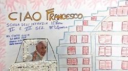 Szczególne spotkanie papieża Franciszka z dziećmi - miniaturka