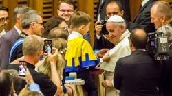 Papież Franciszek z Orderem Uśmiechu - miniaturka