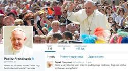 Papież Franciszek podbija Twitter! - miniaturka