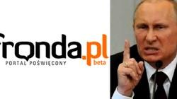 Putin zablokuje Frondę? Rosja nie znosi krytyki - miniaturka