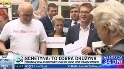 Chcą rządzić Polską, nie potrafią przedstawić list... Opozycyjny kabaret w Łodzi - miniaturka
