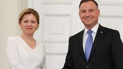 Prezydent Słowacji z oficjalną wizytą w Polsce. Oto, co powiedziała o sądach - miniaturka