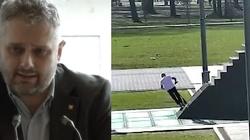 Wieliński z 'GW' ma swoją teorię nt. jazdy na hulajnodze po Pomniku Smoleńskim - miniaturka