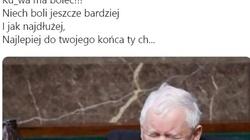 Wielki powrót 'Rudej z KOD'! Życzenia dla Kaczyńskiego: 'Boli? Ma boleć, ty ch....' - miniaturka