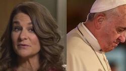 Żona Billa Gatesa liczy na papieża w sprawie zmiany podejścia do... antykoncepcji! - miniaturka