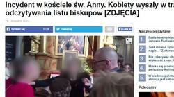 Matka Kurka: Prowokacja w kościele św. Anny to pogrzeb Michnika i Waltera - miniaturka