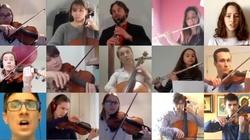 Wirtualna Schola w przepięknym wykonaniu wielkanocnej pieśni - miniaturka