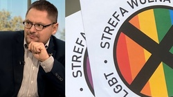 Tomasz Terlikowski: Czy Jezus przykleiłby naklejkę 'Strefa wolna od LGBT' na domu Świętego Piotra? - miniaturka