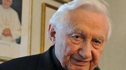 Lewackie media oczerniają ks. Georga Ratzingera, to skandal!!! - miniaturka