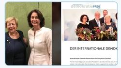 Niemiecka europosłanka Gersdorf nie chciała głodzić, ale nagradzać - miniaturka