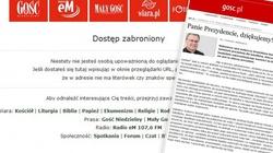 Gość Niedzielny zablokował tekst krytyczny wobec Komorowskiego - miniaturka