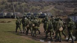 W Donbasie trwa rekrutacja ,,zielonych ludzików''. Mówią, że jadą na Białoruś - miniaturka