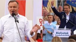 Sondaż. Wyborcy Dudy głosowali za Dudą, wyborcy Trzaskowskiego głosowali przeciw Dudzie - miniaturka