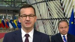 Nocne rozmowy premiera Morawieckiego na szczycie UE - miniaturka
