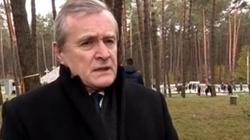 Gliński na cmentarzu w Bykowni: 'Zamordowani tylko za to, że byli Polakami' - miniaturka