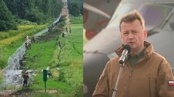 PILNE! Polskie Wojsko ułożyło już 100 km ogrodzenia na granicy z Białorusią - miniaturka