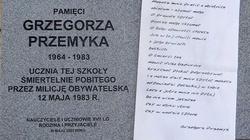 32. rocznica śmierci Przemyka. Pamiętamy! - miniaturka