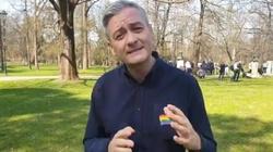 'Polsce potrzebna jest tęczowa rewolucja'. W Koszalinie odbył się 'marsz równości' - miniaturka
