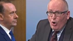 'Głupi chłopak!' Timmermans kontra brytyjski wiceminister - miniaturka