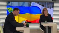,,Ukrainy nie pozostawimy samej''. Wicemarszałek Gosiewska udaje się do Donbasu - miniaturka