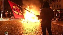 Lewacy z Polski podpalali Hamburg!!! - miniaturka
