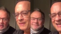 Tom Hanks śpiewa Polce 'sto lat' - ZOBACZ! - miniaturka
