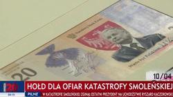 NBP wprowadza banknot z wizerunkiem śp. Lecha Kaczyńskiego. ,,Chcemy oddać hołd wielkiemu człowiekowi'' - miniaturka