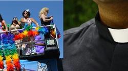 Katolicki ksiądz wspiera paradę homoseksualistów  - miniaturka