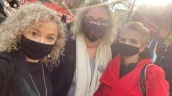 Feministki przed TK protestują w obronie aborcji - miniaturka