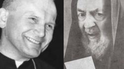 Niezwykłe spotkanie dwóch wielkich świętych - miniaturka