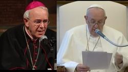 Bp Schneider: W nowej encyklice papież wypacza obraz św. Franciszka  - miniaturka