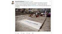 Niebywałe! Piotr S. już ma tablicę pamiątkową w Warszawie - miniaturka
