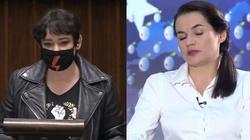 Żukowska atakuje Cichanouską: Dyskwalifikująca wypowiedź  - miniaturka