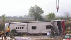 Polak wśród rannych w wypadku w Hiszpanii - miniaturka