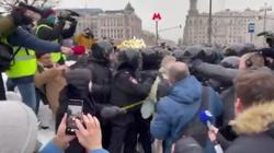 Demonstracje w Rosji. Zatrzymano współpracowniczkę Nawalnego - miniaturka