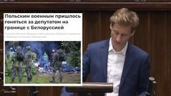 Sterczewski bohaterem białoruskich mediów. Oto konsekwencje działań opozycji  - miniaturka