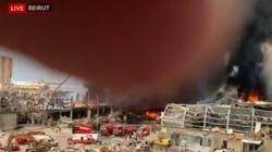 Kolejny pożar w porcie w Bejrucie  - miniaturka